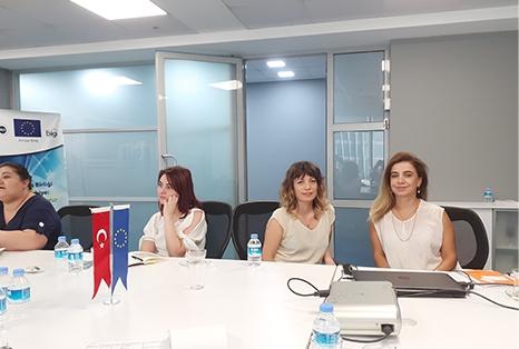IKV ofisinde sivil toplum projesi yonetim toplantisi